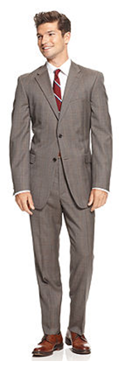 Men - What to wear - modern slim cut suit