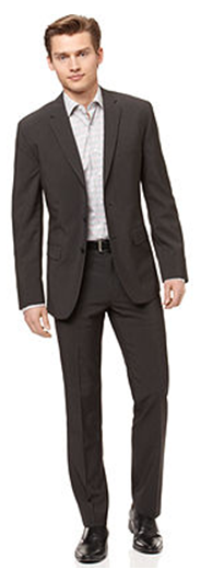 Men - What to wear - less formal suit